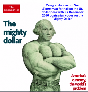'Mighty Dollar: Economist Contrarian Cover Nails The Top'