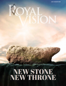 Jesus' throne to have the Stone of Destiny or the PCG 'Prayer Rock'?