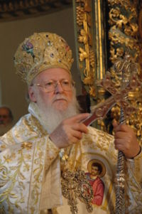 Orthodox Patriarch Bartholomew of Constantinople