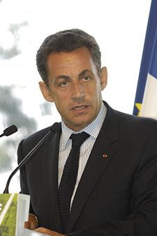Nicolas Sarkozy, President of France