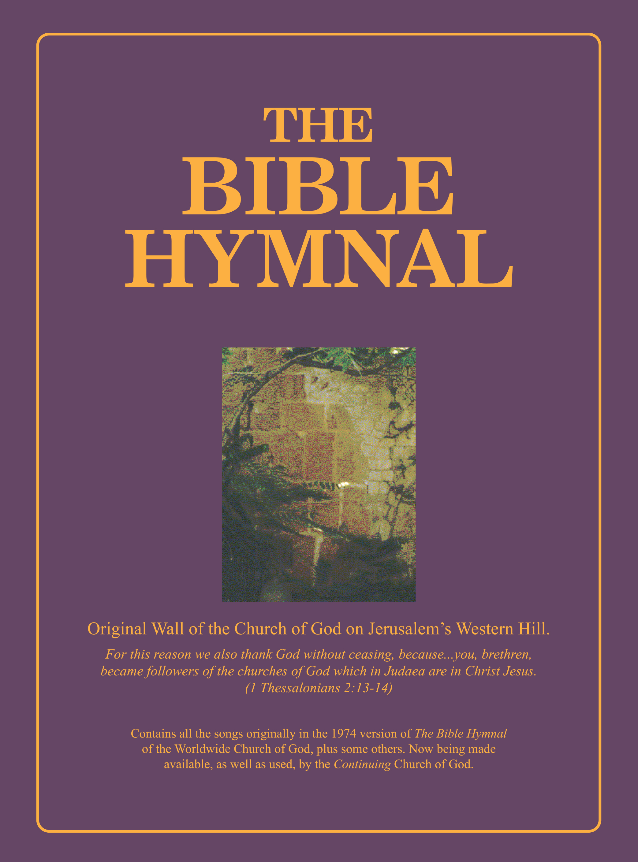 What type of hymns did early Christians sing?