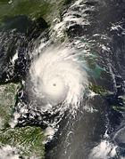 Hurricane Gustav Over Cuba