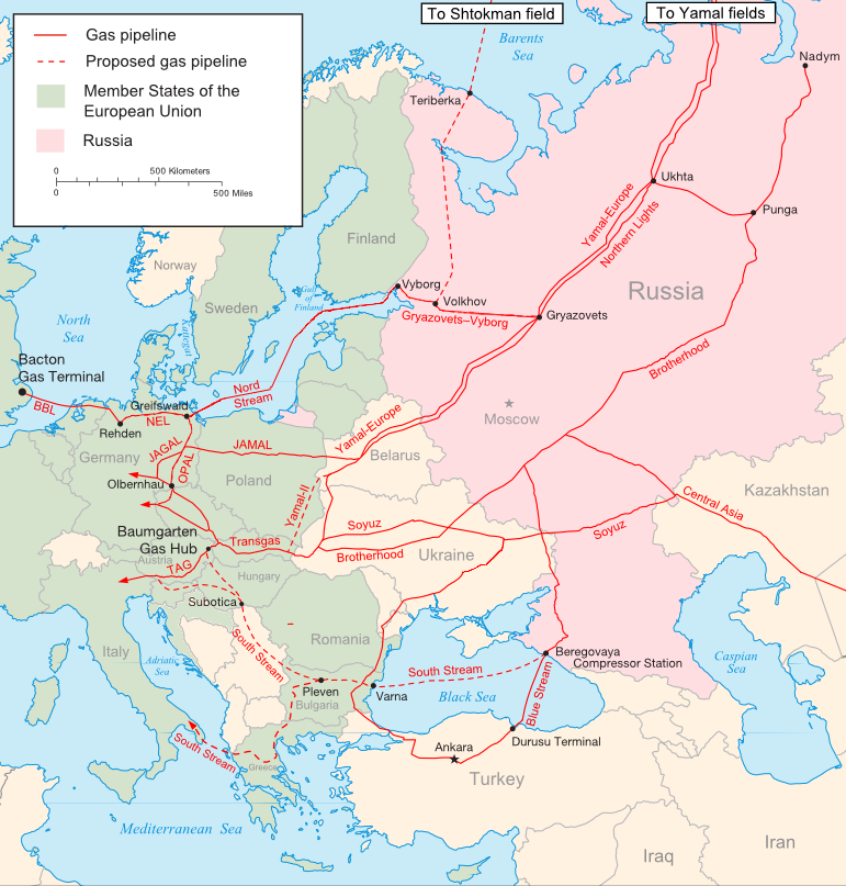 Merkel and Biden disagree on Russian Nord Stream II–Europe moving towards becoming a religious superstate?